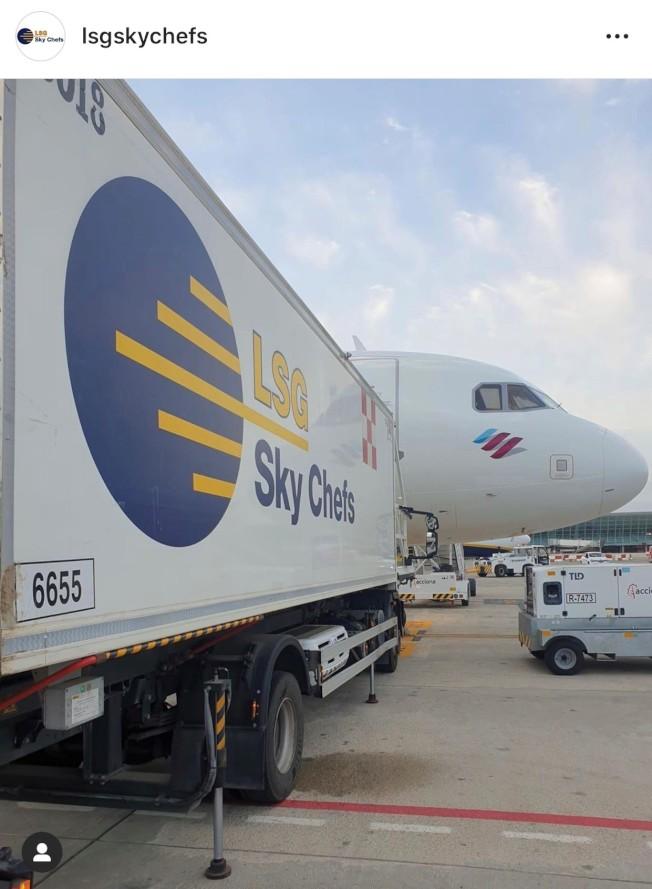 由於航空旅遊不景氣,提供飛機餐的Sky Chefs公司計畫裁掉伊州300多名員工。(Sky Chefs IG)