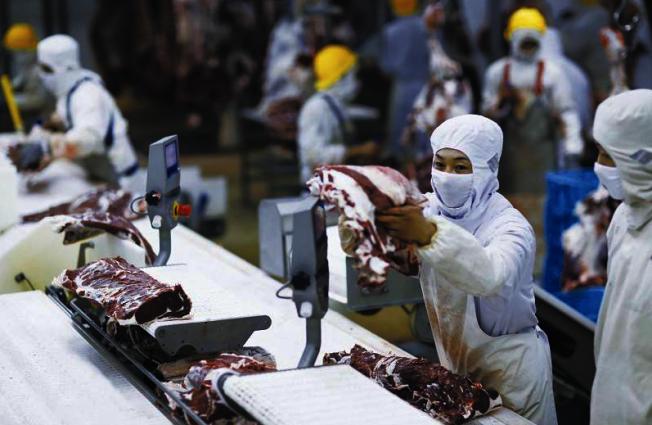 新冠疫情效應 中暫停進口19國56家冷鏈食品