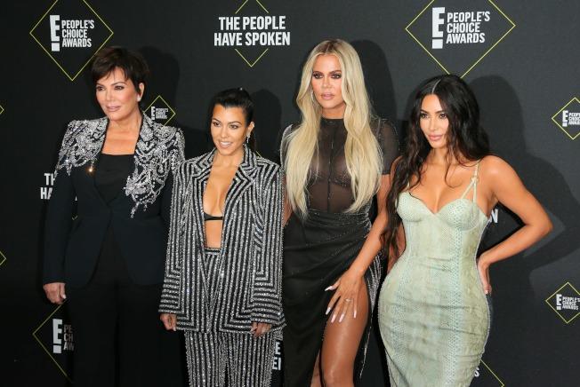 「與卡戴珊姊妹同行」(Keeping Up With the Kardashians)播出長達十餘年,將在2021年收攤。(Getty Images)